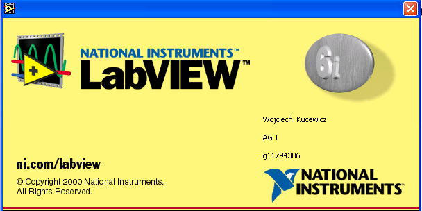 LabVIEW Awards Readers of Electronic Design name invention of LabVIEW as one of the Top 50 Milestones for the Electronics Industry LabVIEW 6.