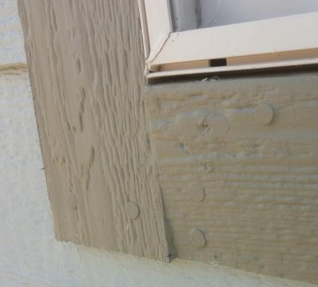 Single Windows Install each piece using pairs of nails at each end and one pair of nails centered between. The nails closest to the window may catch the window flange underneath.