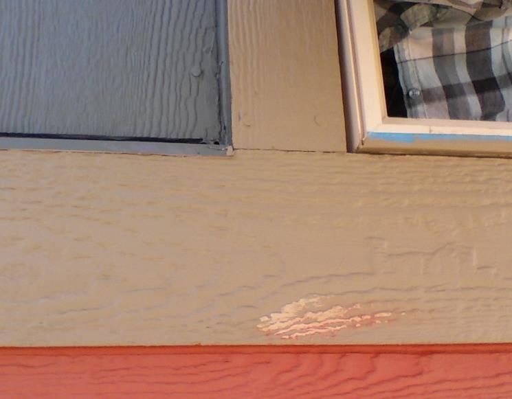Windows Exceptions: at Belly Board On some siding details, the bottom piece of 1x4 is replaced by the 1x6 belly board or other trim.