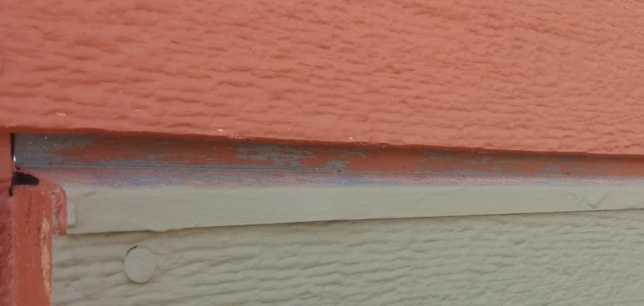 Flashing on Trim Install using 10d siding or 16d galvanized nails every 2. Install nails close to the top edge of the flashing. Where trim is longer than 8, overlap pieces of flashing by 3.