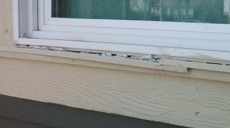Flashing on Trim Under windows All horizontal trim that sticks out farther than whatever is on top of it needs flashing including any sill caps under windows.