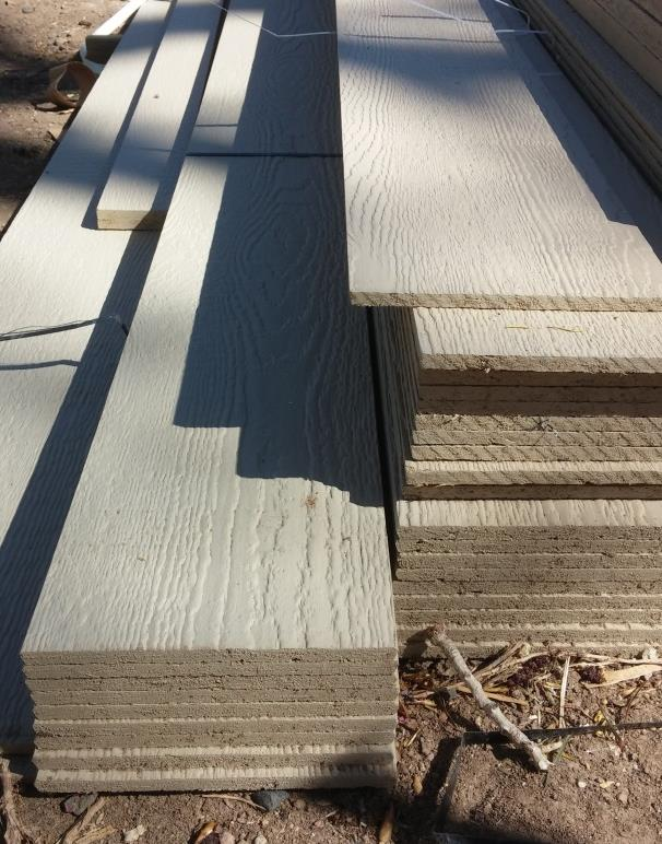 Types of siding Lap siding 6 to 8 Exterior trim ⁵/₄ x 2 up to ⁵/₄ x 12 Shakes 4 x 1