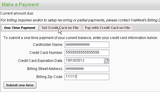 UPDATE/ENTER NEW CREDIT CARD INFORMATION 1. Complete the following fields: Cardholder Name: Enter your name as it appears on the credit card.