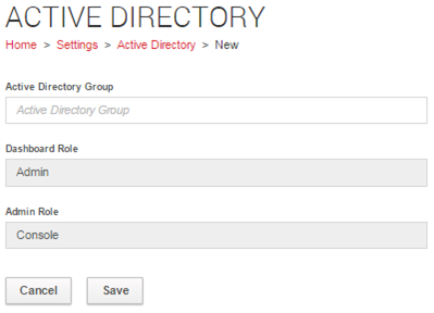 Configuring GEMS Core 4. Click Save. 5. Repeat from Step 2 above to add more groups.