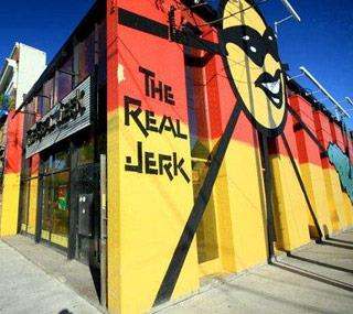 Case Study The Real Jerk The Real Jerk was an iconic Jamaican restaurant at the corner of Queen and Broadview that was given only one month s notice to move out after 22 years at the same location.