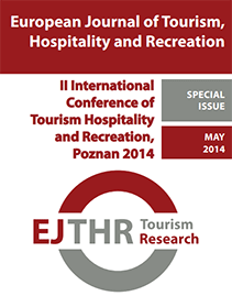 TOURISM RESEARCH IN A CHANGING WORLD EJTHR SPECIAL ISSUE MAY 2014 2ND INTERNATIONAL CONFERENCE OF
