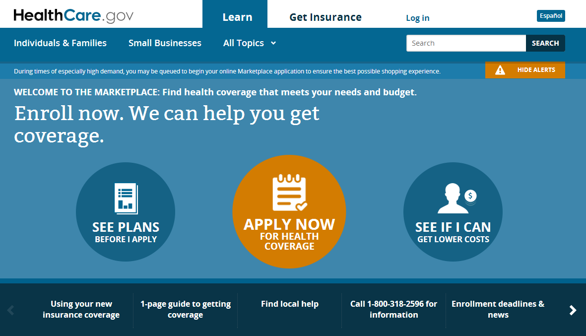Affordable Care Act & Arizona Health Insurance Marketplace Application & Information Four ways to apply Online www.healthcare.gov There are four steps to the online application: ) Set up an account.