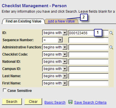 Step 1 Step 2 Click the Academic Plan search to select the student s academic plan to associate the new milestone with.