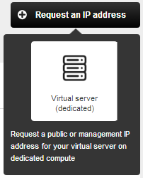 CHAPTER 5 IP MANAGEMENT To acquire either a public IP address or management IP address, you need to submit a request to us via the Cloud Services management console.
