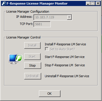 CONFIGURE F-RESPONSE NETWORKING In our example, the newly deployed Cloud Server is configured with both an externally facing IP address and an internally facing IP address.