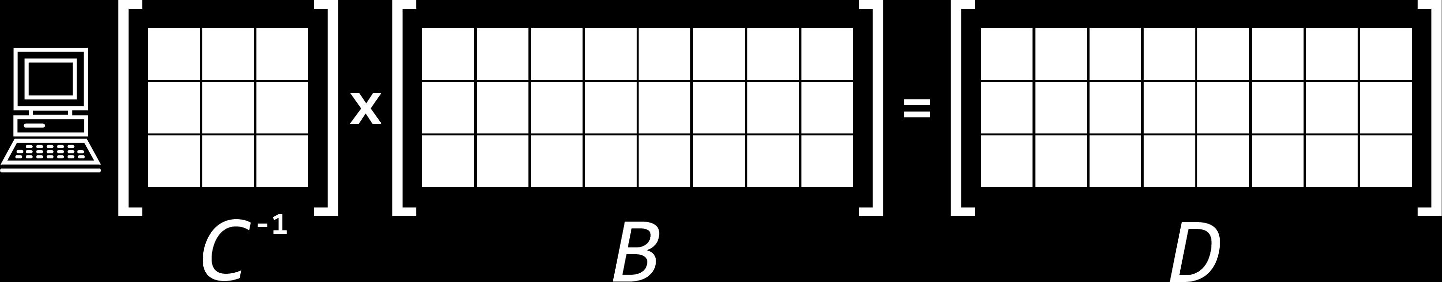 Figure 2.4: Peer receiving a coded block. The peer takes the coefficient vector V and data vector E and stores them as rows in its local coefficient matrix C and data matrix B. Figure 2.