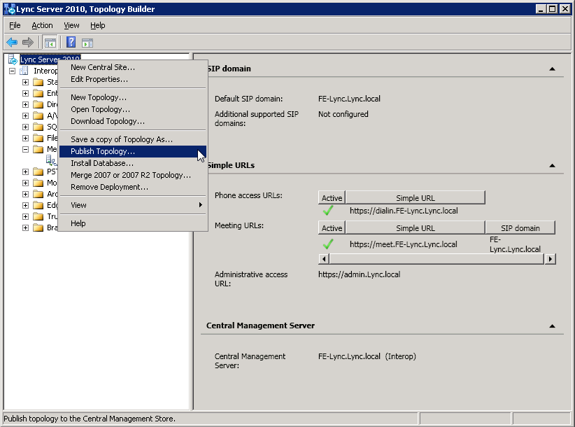 Connecting Microsoft Lync 2010 to a SIP Trunk 4.