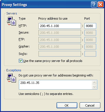 3.2.1 Preparing the PC Notice When Using a Proxy Server If the network has a proxy server installed, you must apply the appropriate proxy settings to your PC.