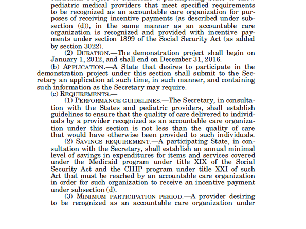 Patient Protection and Affordable Care Act (PPACA) pages 207-208