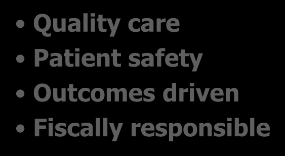Characteristics of Optimal Future Healthcare Quality