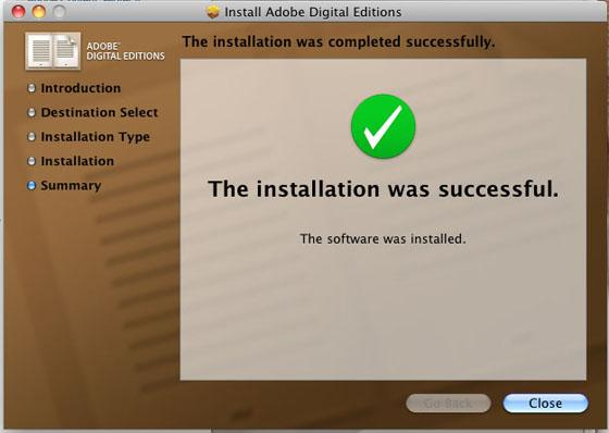 7. Mac OS X asks that you authorize the