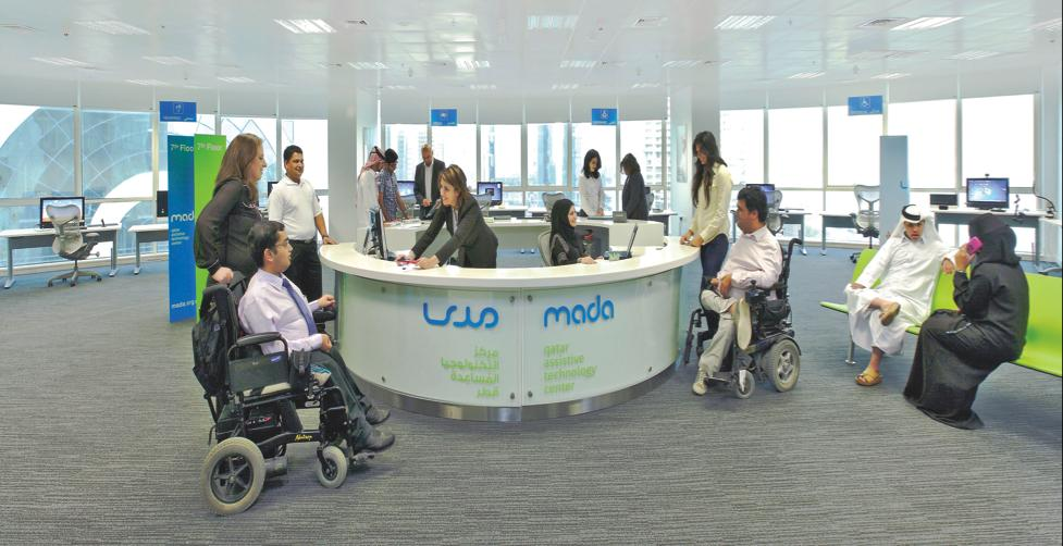 Mada (Qatar Assistive Technology Center) working towards an inclusive digital society Submitted by The State of Qatar Author: Ahmed Habib Since opening its doors in June 2010, Mada (Qatar Assistive