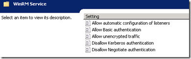 To configure the WinRM service to start automatically, navigate to Computer Configuration\Policies\Windows Settings\Security Settings\System Services\Windows Remote Management,