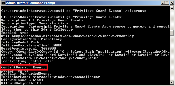 21 Optimizing Event Forwarding Pre-rendering If the Source Computer is generating a large volume of forwarded events (e.g. Security events from a Domain Controller) then it is recommended that event rendering is disabled on the Event Collector.
