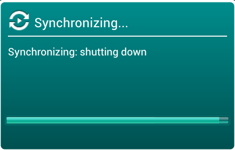 Just click Synchronization and you will see the following on your mobile device screen: If synchronization attempt fails, please read the following article regarding sync with Kaspersky Security