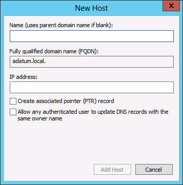 PTR (Pointer) Provides an address-to-name mapping that supplies a DNS name for a specific address in the in-addr.arpa domain.