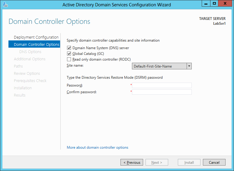 Adding a domain controller to an existing domain Every Active Directory domain should have a minimum of two domain controllers.