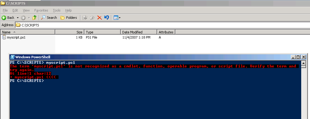PowerShell security and common problems for beginners How do I run PowerShell script?