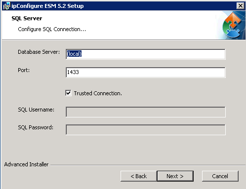 Step 3: System Components Step 4: SQL Database 1 1 3 2 4 2 5 1. Select Full Install to Install Management and Archive Server 2. Click: Next > 1. Enter Server name or IP address 2. Enter Port number 3.