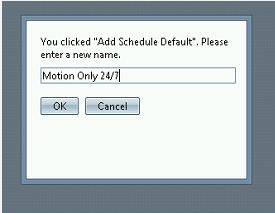 Click on Schedules Step 4: ESM Creating Schedules Motion Only 1. Right Click on Schedules 2.