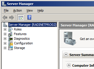 For Windows Server 2008 Roles to install: Select server roles -- Web Server (IIS) -- Application Server Select function -- WCF Activation -- ASP.NET Procedure 1.