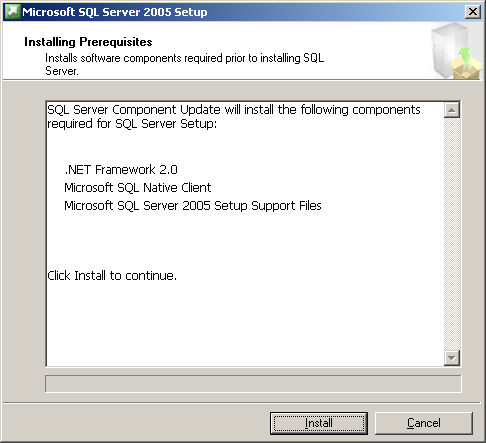 2-2. Installation of SQL Server Attention The procedure differs depending on the SQL Server version.