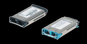 Allied Telesyn GBIC s (Giga Bit Interface Conversion) GBICs are the predecessor to SFPs Fixed at 1Gbps Part Code Description AT-G8T 1000BaseT Module (only 1000,