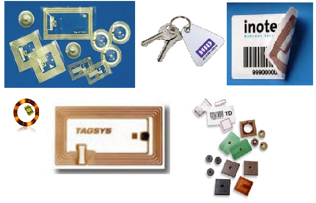 6 Source: http://www.directindustry.com Figure 2.1. RFID tag examples. Passive Tags: Powerless or passive RFID tags are low-cost devices with limited memory and limited computational capabilities.