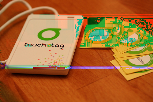 RFID reader Available at www.touchatag.