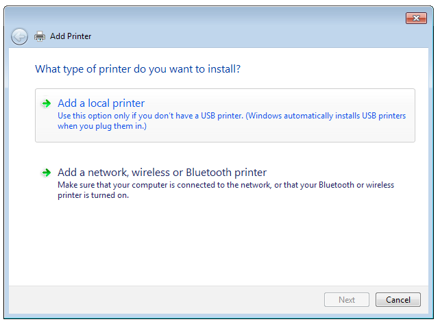5.3.2 Using LPR to Share Printer You can share your printer with computers running on Windows and MAC operating system using LPR/LPD (Line Printer Remote/ Line Printer Daemon).