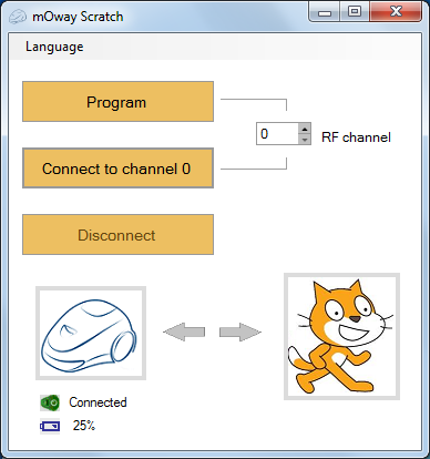Page 69 of 84 8. moway Scratch 8.1. Introduction Now moway is also compatible with Scratch.