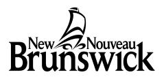 LAW NEWS PAGE 43 SEPTEMBER 2014 DRAFT CANADA PROVINCE OF NEW BRUNSWICK BUSINESS CORPORATIONS ACT CERTIFICATE ÉBAUCHE CANADA PROVINCE DU NOUVEAU-BRUNSWICK LOI SUR LES CORPORATIONS COMMERCIALES