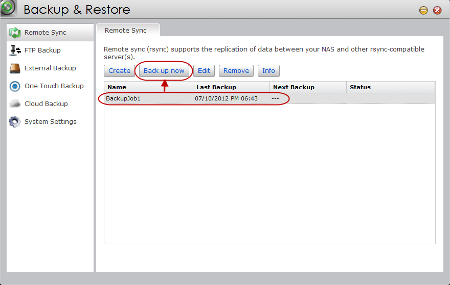 STEP 8 Look over a final summary of your settings. Once you re done, confirm these settings by clicking [Finish].
