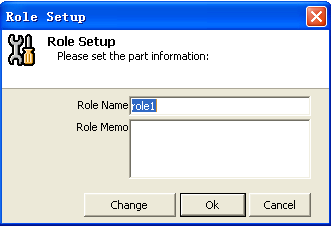 Role set: The role of authority to operate the site is a collection of user rights settings for the service. Add a character, you can set his operating privileges for each site.