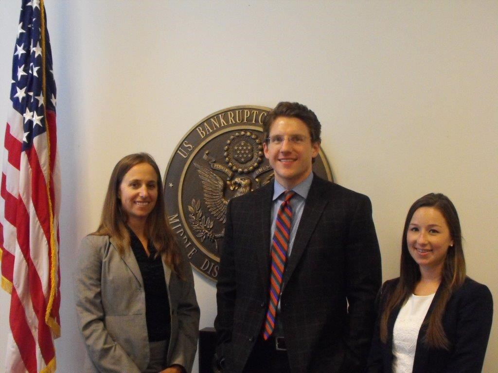 Court Connection Page 3 Shared Law Clerks On October 1, 2014, three new Shared Law Clerks joined the staff of the Middle District of Florida.