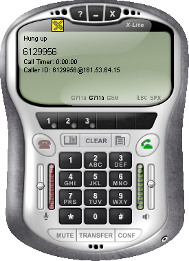 6.2.1 ifon soft phone ifon supports both audio and video with Asterisk as well as Free World Dialup. It also interoperates with all major SIP phones, including Windows Messenger (4.7 and 5.). Fig.