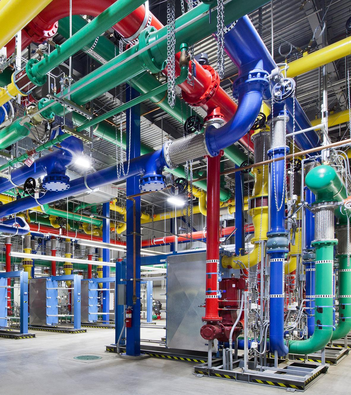 "Google's Platform ""[Google's] ability to build, organize, and operate a huge network of servers and fiber-optic cables with an efficiency and speed that rocks physics on its heels."