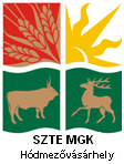UNIVERSITY OF SZEGED FACULTY OF AGRICULTURE in cooperation with UNIVERSITY OF AGRICULTURAL