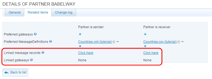 You will soon get access to the statistics by partner IN or partner OUT (now only by channel, gateway IN or gateway OUT).