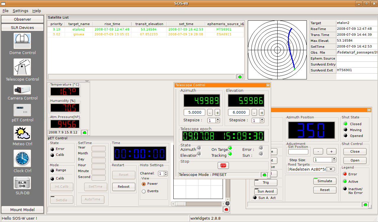 operator can run the applications with highly sophisticated graphical interfaces.