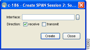 Configuring SPAN Chapter 60 Step 10 Close the two dialog boxes. Editing SPAN Sources To edit a SPAN source using Device Manager, follow these steps: Step 1 Step 2 Choose Interface > SPAN.