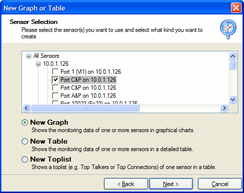Adding Custom Graphs and Tables to a Panel After creating a new panel you will see the button Click here to add