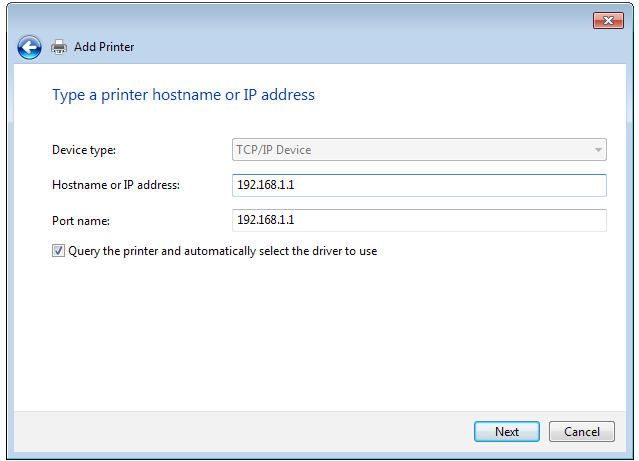 3. Select Create a new port then set Type of Port to Standard TCP/IP Port. Click New Port. 4.