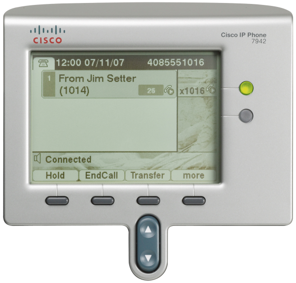 Figure 2. Close-Up of Display and Lighted Line Keys Features and Benefits The is designed to grow with your organization and enhancements to your system capabilities.