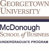Georgetown University McDonough School of Business Georgetown University Georgetown University Undergraduate Bulletin http://bulletin.georgetown.